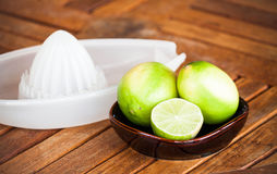 Fresh citrus lime Royalty Free Stock Photos