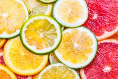 Fresh citrus fruit background. stock photography