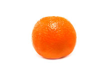 Fresh Clementine. Isolated on a white background Stock Photos
