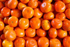 Fresh clementine Royalty Free Stock Photography