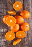 Fresh clementine or orange Royalty Free Stock Image
