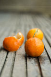 Fresh clementines Royalty Free Stock Photos