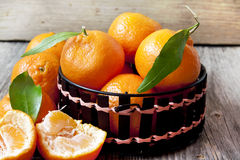 Fresh Clementines Royalty Free Stock Images