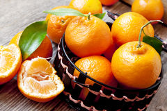 Fresh Clementines Stock Photos