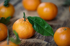 Fresh Clementines Royalty Free Stock Image