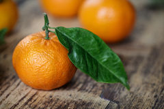 Fresh Clementines Stock Photo