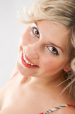 Fresh closeup portrait Royalty Free Stock Image