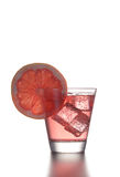 Fresh cocktail with grapefruit and ice. Stock Images