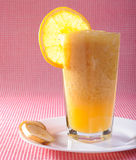 Fresh cocktail of orange juice Royalty Free Stock Photography