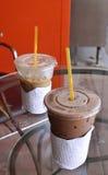 Fresh cocoa drink Stock Image