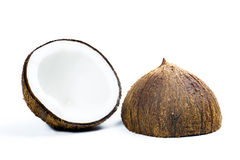Fresh coconut stock photography