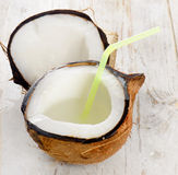 Fresh coconut Royalty Free Stock Photos
