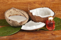 With fresh coconut fragrance Stock Images