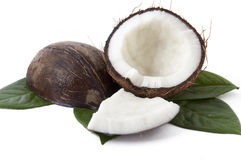 With fresh coconut fragrance Stock Photo