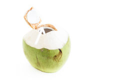 Fresh Coconut Water Drink Royalty Free Stock Photo