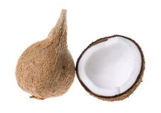 Fresh coconuts Stock Photo