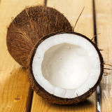 Fresh coconuts. Close up of fresh coconuts Royalty Free Stock Photos