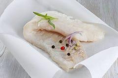 Fresh cod filet Stock Photography