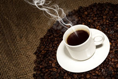 Fresh coffee Royalty Free Stock Images