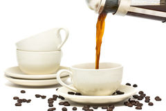 Fresh coffee Royalty Free Stock Photo