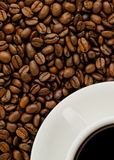 Fresh Coffee Royalty Free Stock Photography
