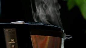 Fresh coffee stock footage