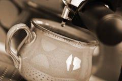 Fresh coffee Stock Image
