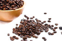 Fresh Coffee Bean Series 01 Stock Image
