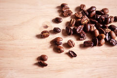 Fresh coffee beans. Stock Photography