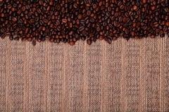 Fresh coffee beans , ready to brew delicious coffee Stock Photo