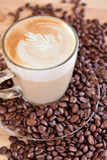 Fresh coffee beans Royalty Free Stock Photos