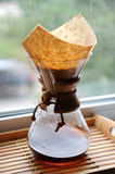 Fresh coffee brewing alternative method Stock Photography