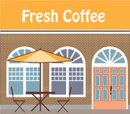 Fresh Coffee Cafe. File eps Royalty Free Stock Images