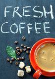 Fresh coffee Royalty Free Stock Photos