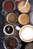 Fresh coffee Stock Photography