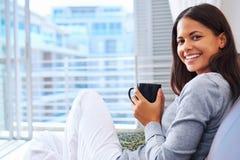 Free Fresh Coffee Woman Stock Image - 29709151