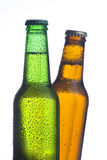 Fresh cold and tasty beer Stock Image