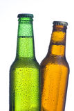 Fresh cold and tasty beer Royalty Free Stock Photography