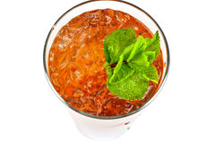 Fresh cold tea Stock Images