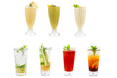 Fresh cold tea Royalty Free Stock Images