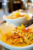 Fresh cole slaw. An image of fresh made cole slaw Royalty Free Stock Images