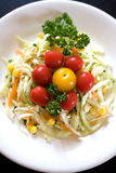 Fresh coleslaw royalty free stock image