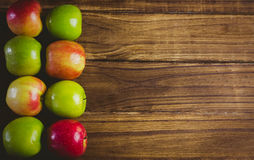Fresh colorful apples Stock Photography