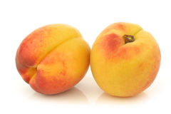 Fresh colorful apricots Royalty Free Stock Photo