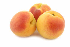 Fresh colorful apricots Royalty Free Stock Image