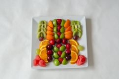Fresh colorful fruits. Healthy nutrition, diet concept. stock photo