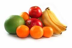 Fresh colorful fruits isolated Royalty Free Stock Image