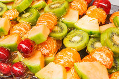 Fresh colorful fruits. Royalty Free Stock Photo