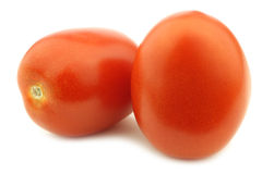 Fresh and colorful italian roma tomatoes Stock Photo