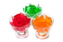 Fresh colorful jelly Royalty Free Stock Photo